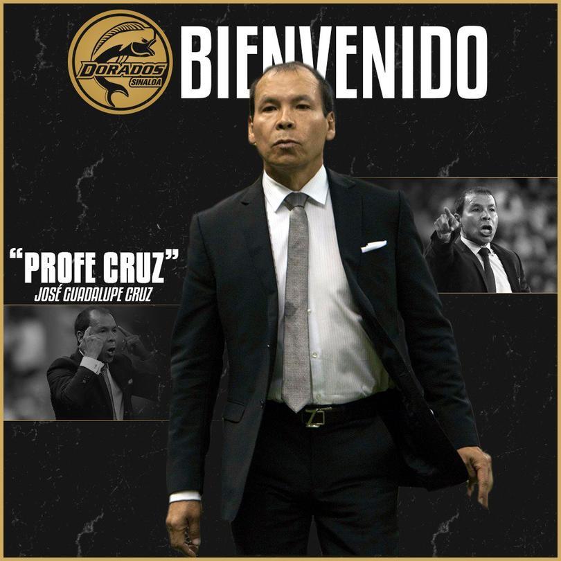 José Guadalupe Cruz es el nuevo DT de Dorados