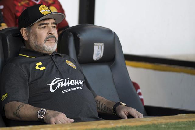 Dorados anunció al sustituto de Maradona