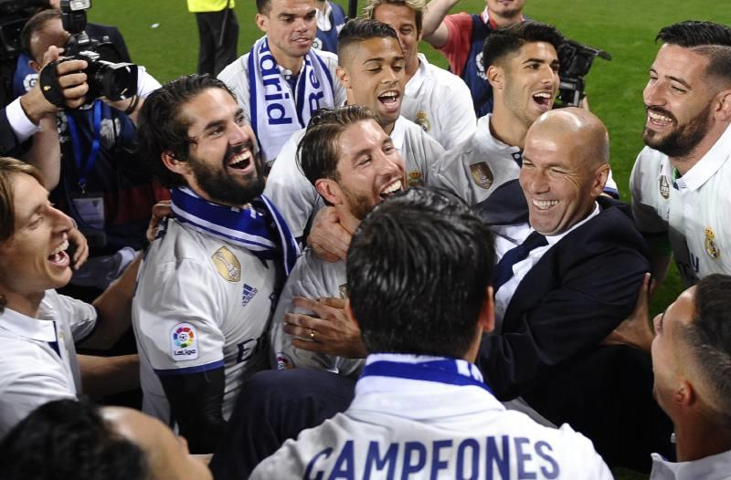 Real Madrid campeón de Liga 2016-2017