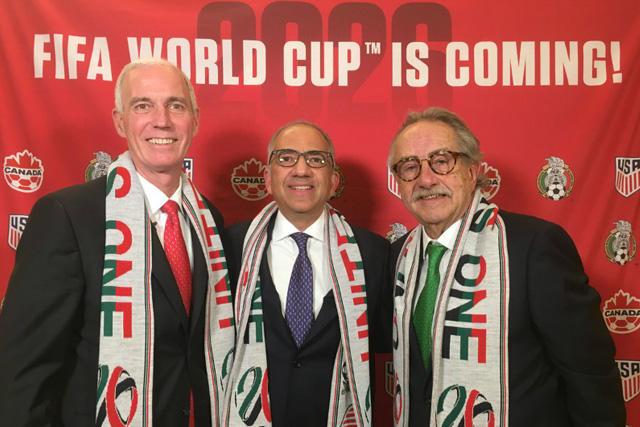 Mundial de 2022 se podría jugar en México, Estados Unidos y Canadá