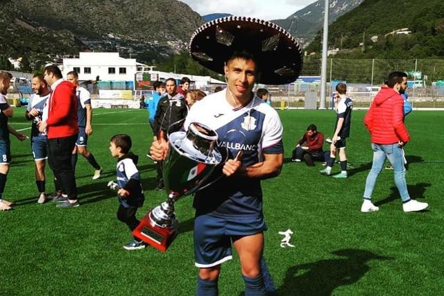 Diego Nájera juntara con el Santa Coloma la fase previa de Champions League