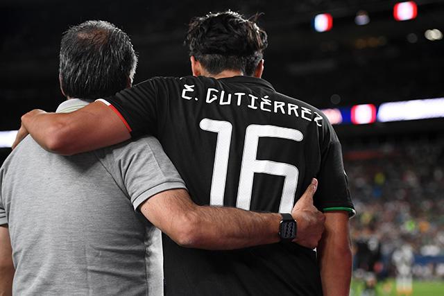 Erick Gutiérrez podría perderse el resto de la Copa Oro