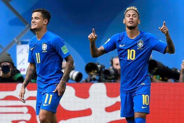 Philippe Coutinho y Neymar