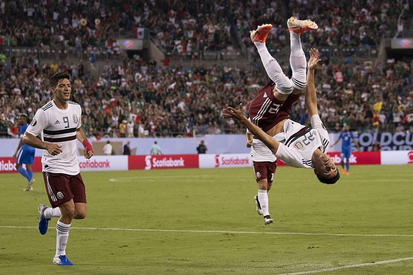 México venció a Martinica y se quedó en primer lugar del grupo