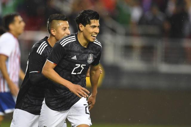 Erick Gutiérrez regresó a los entrenamientos con México