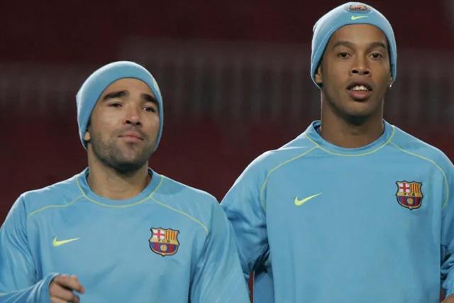 Deco y Ronaldiho habrían entrenado en estado de ebriedad en el Barcelona