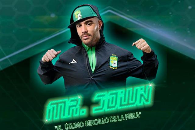 Jown Cardona fue presentado con una canción de reggaeton