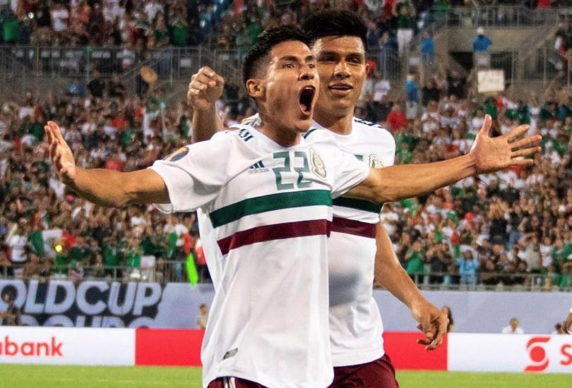 Uriel Antuna entró en el XI ideal de la fase de grupos de la Copa Oro