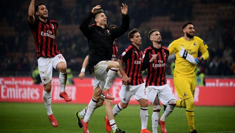 Duro golpe al Milan quedarse sin competencias europeas