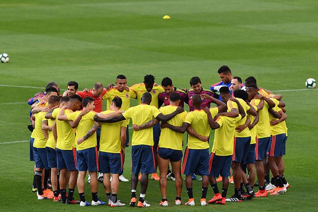 Así será la alineación de Colombia contra Chile