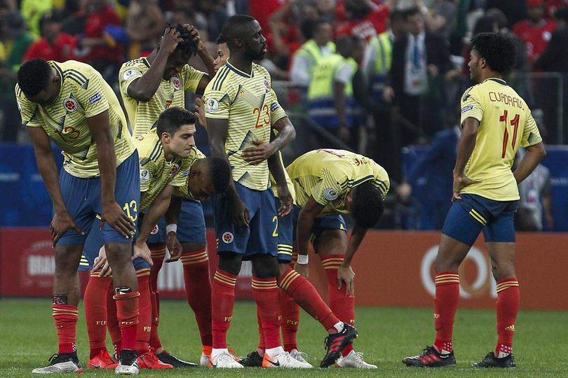 Colombia fue eliminada por Chile en penales