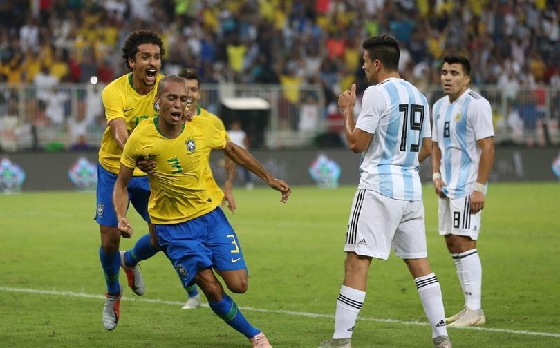 Brasil vs Argetina