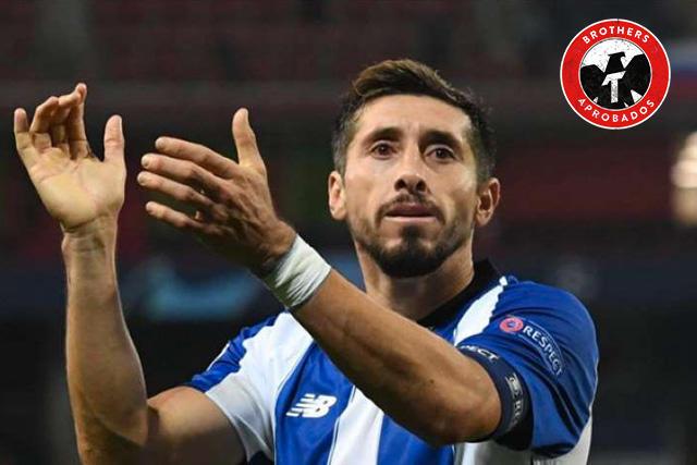 Héctor Herrera se despide de Porto