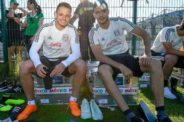 Para Jiménez, Chicharito es el mejor delantero del Tri en la historia