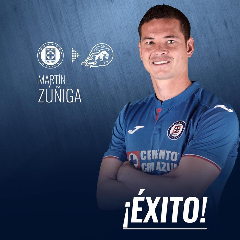 Zúñiga pasará al Celaya a préstamo el próximo torneo