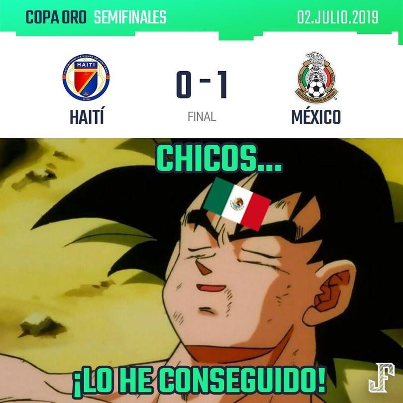 México vs Haití