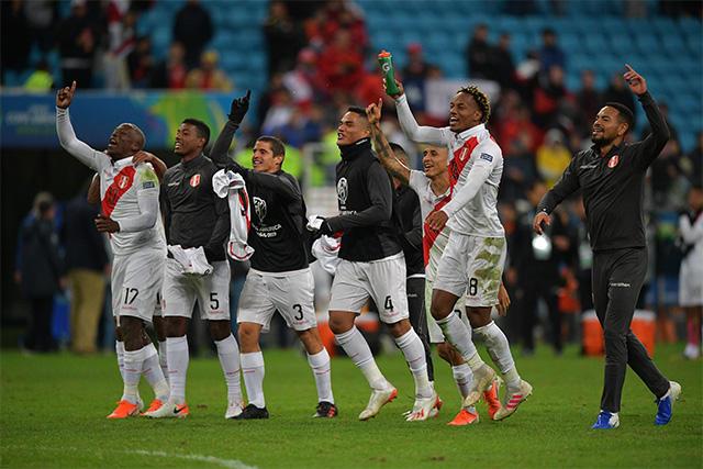 Perú a la final de la Copa América