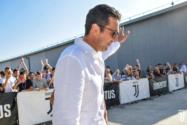 Gianluigi Buffon regresa a la Juventus