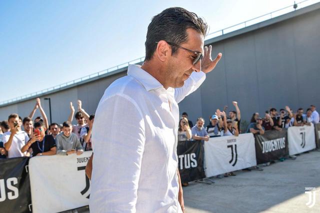 Gianluigi Buffon regresa a la Juventus