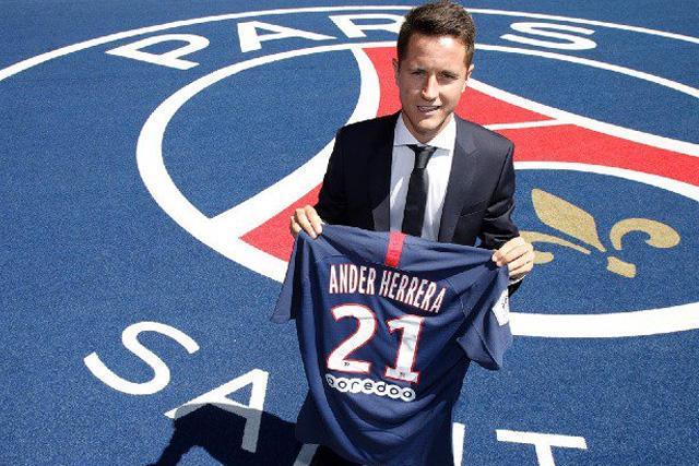 Ander Herrera es nuevo jugador del PSG