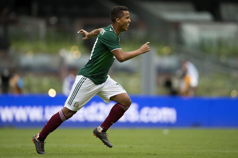 Giovani Dos Santos en el Estadio Azteca