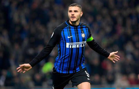 Icardi podría llegar al Napoli la próxima temporada
