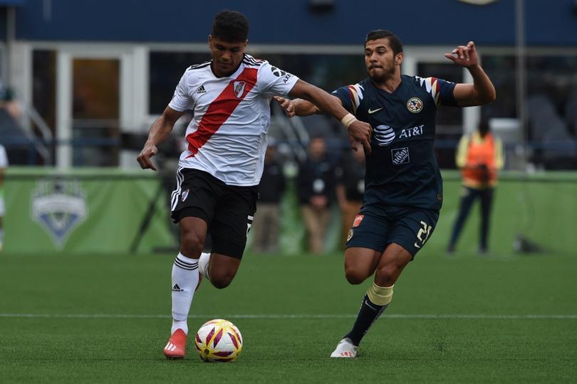 River Plate vence al América en Estados Unidos