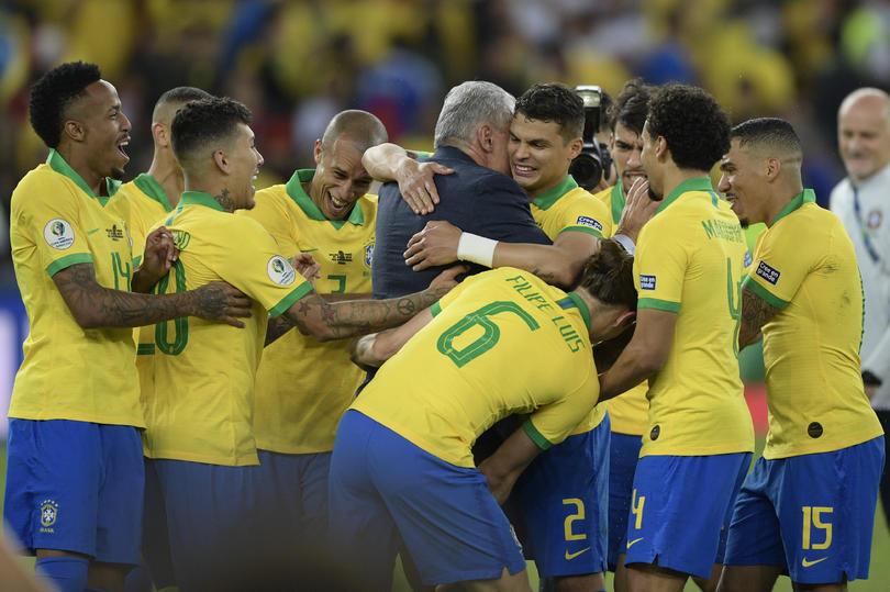 Brasil campeón de la Copa América