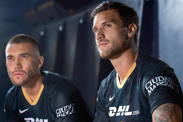 Nuevo uniforme de Pumas