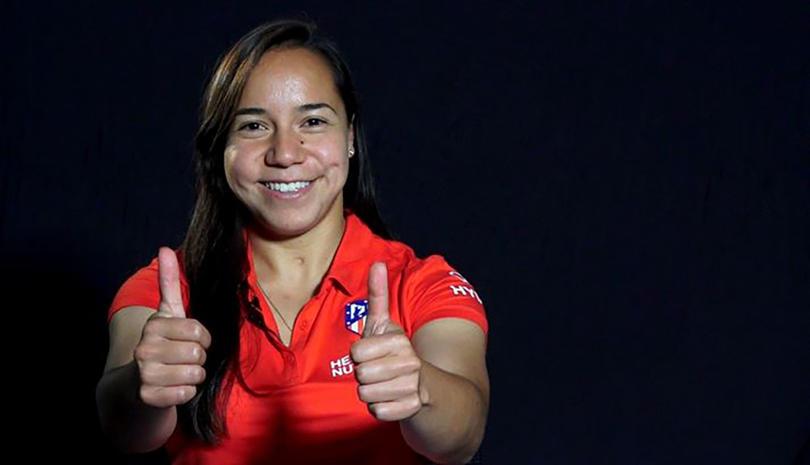 Charlyn Corral es nueva jugadora del Atleti Fmenil