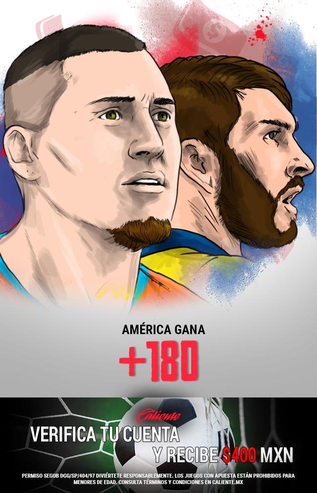 Si crees que América gana el trofeo de campeón de campeones en los 90min vs Tigres, apuesta en Caliente y llévate mucho dinero.