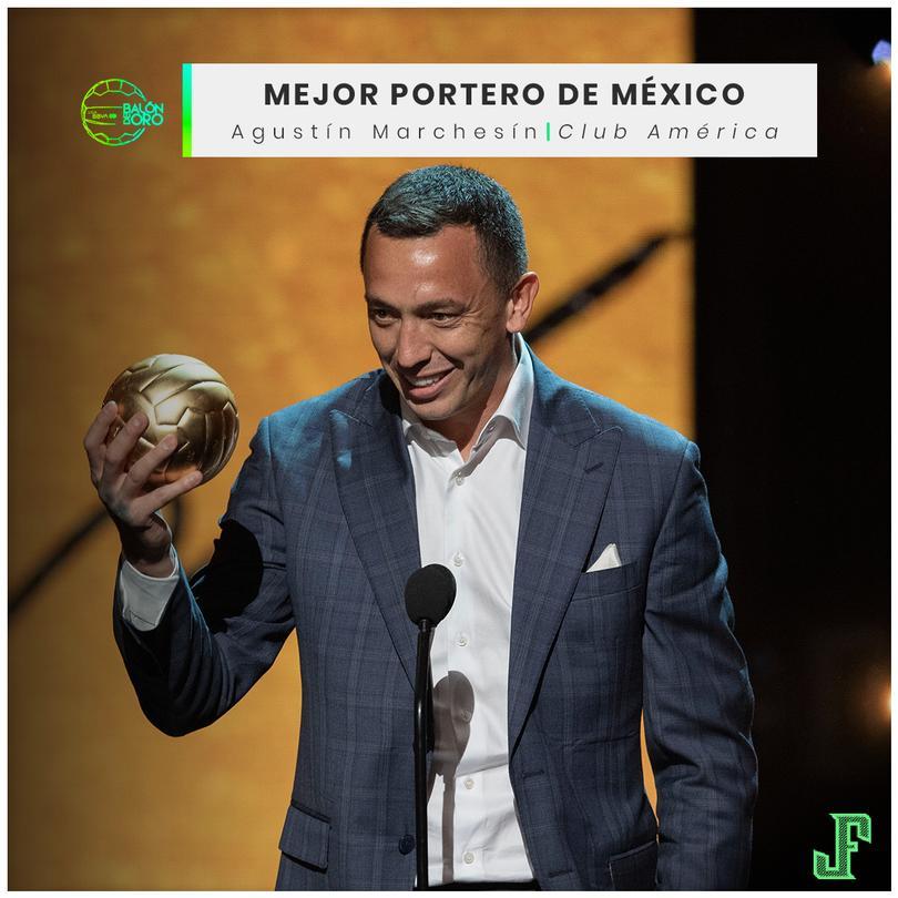 Agustín Marchesín Mejor Portero de México