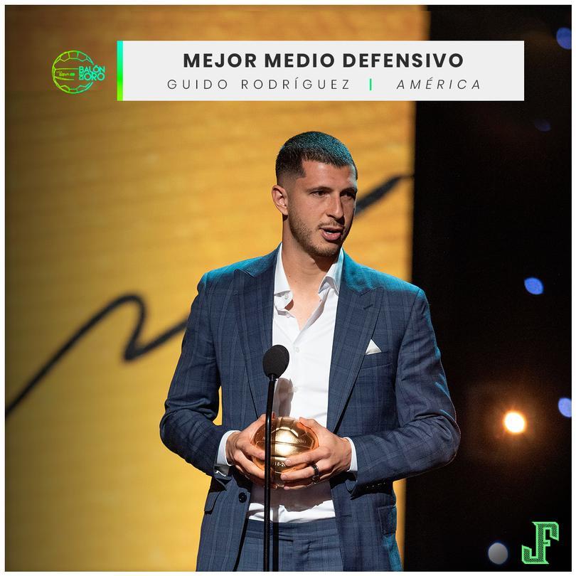 Guido Rodríguez Mejor Medio Defensivo
