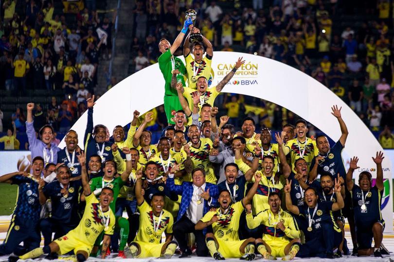 AMÉRICA ganador del Campeón de Campeones