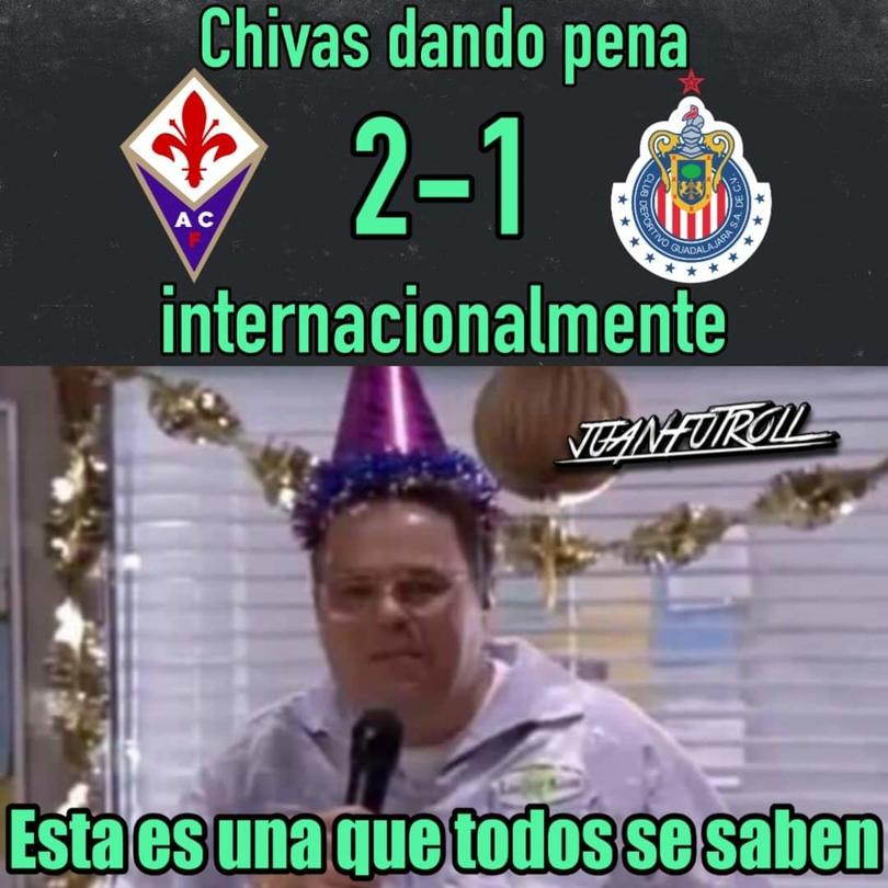 Fiorentina vs Chivas