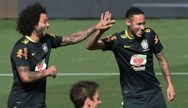 Marcelo espera que Neymar pueda llegar al cuadro madrileño