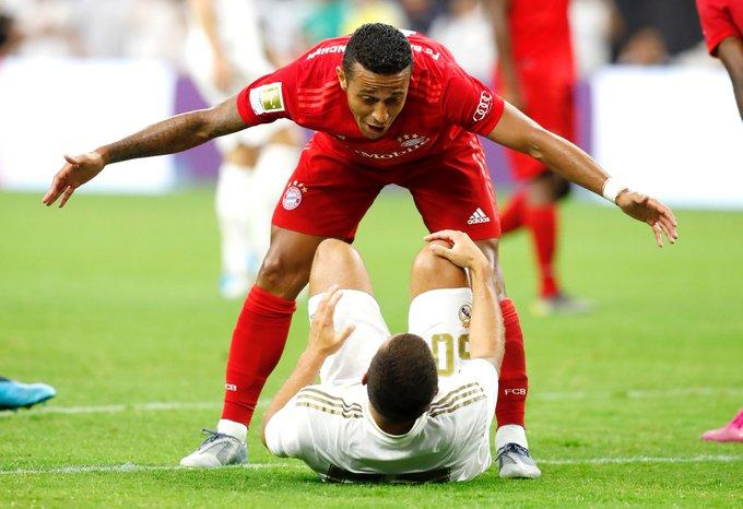Real Madrid perdio ante el Bayern