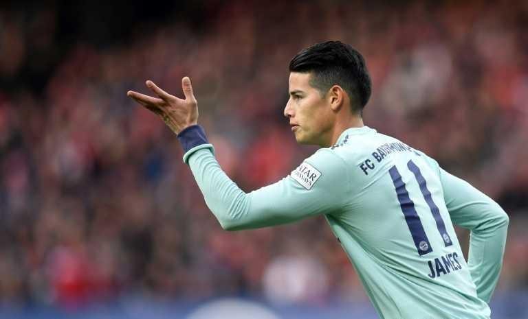 James estaría llegando al Atlético de Madrid para la próxima temporada