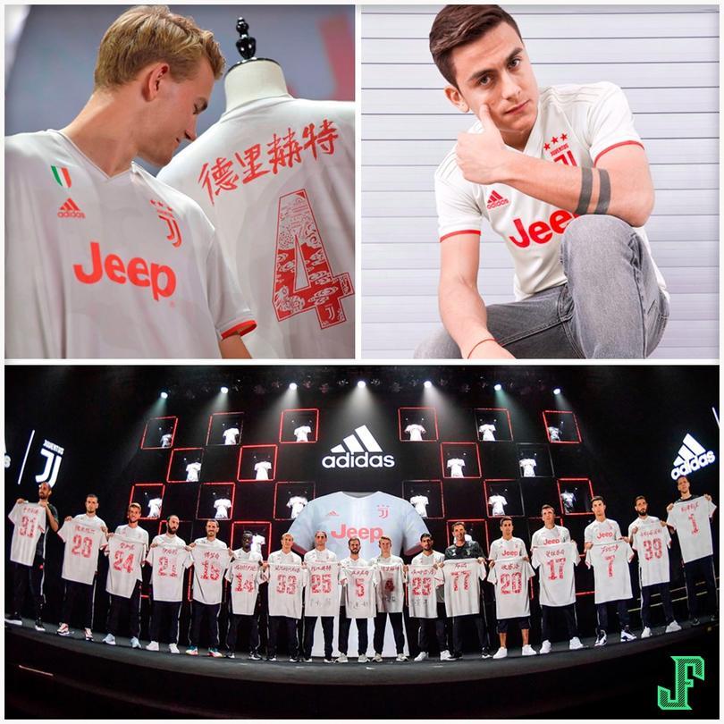 Jersy de visita de la Juventus