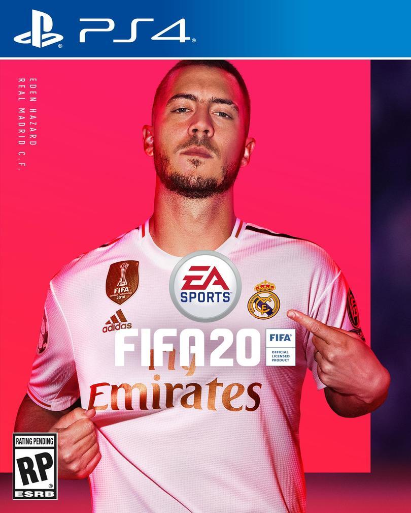 Eden Hazard es la nueva portada del FIFA 20