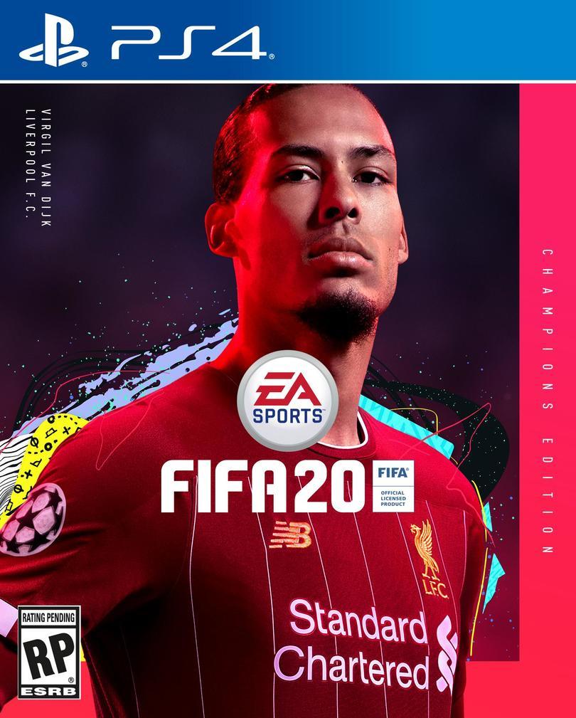 Virgil Van Dijk es la portada del Champions Edition del FIFA 20