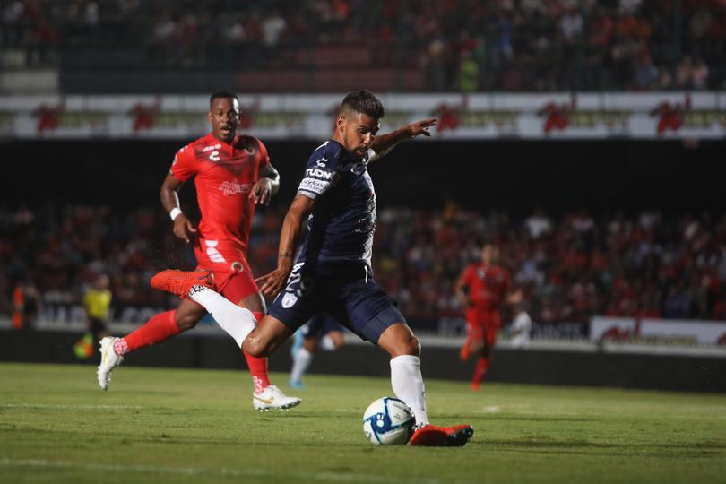 Franco Jara igualó la marca de máximo goleador de Pachuca