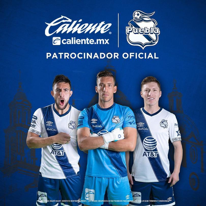 Caliente, patrocinador oficial del Puebla
