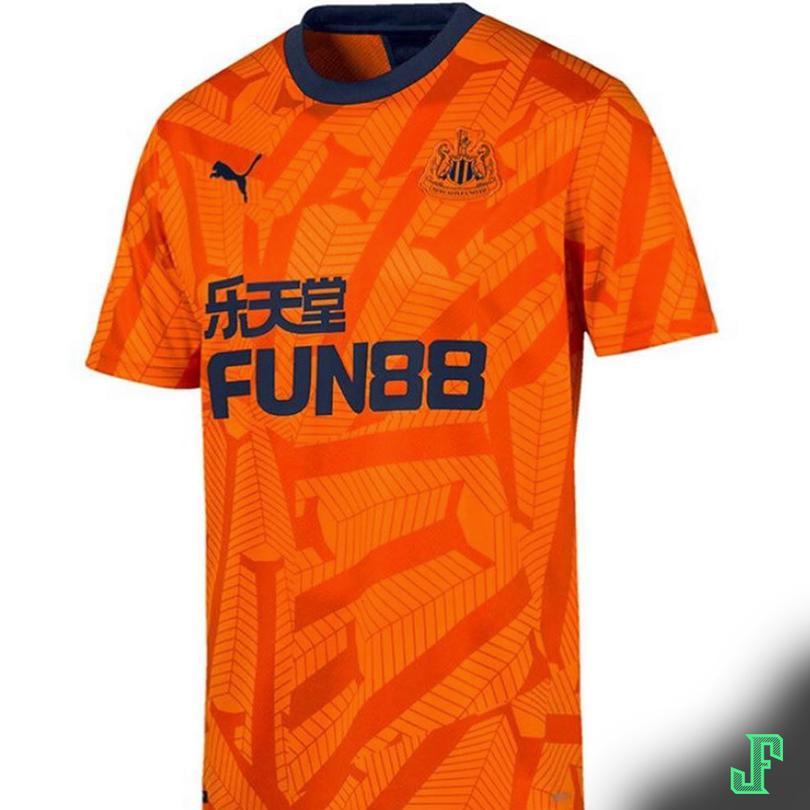 El tercer uniforme del Newcastle.