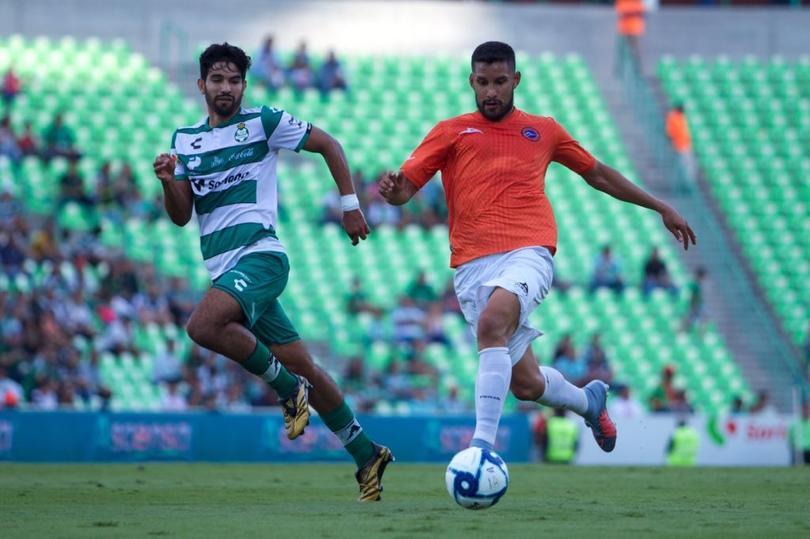 Santos y Correcaminos empataron a un gol
