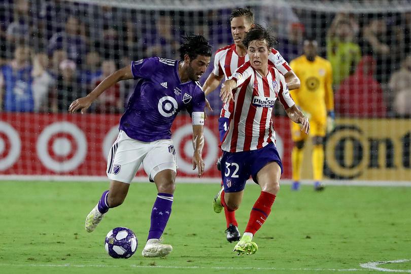 MLS ALL STAR 0-3 ATLÉTICO DE MADRID