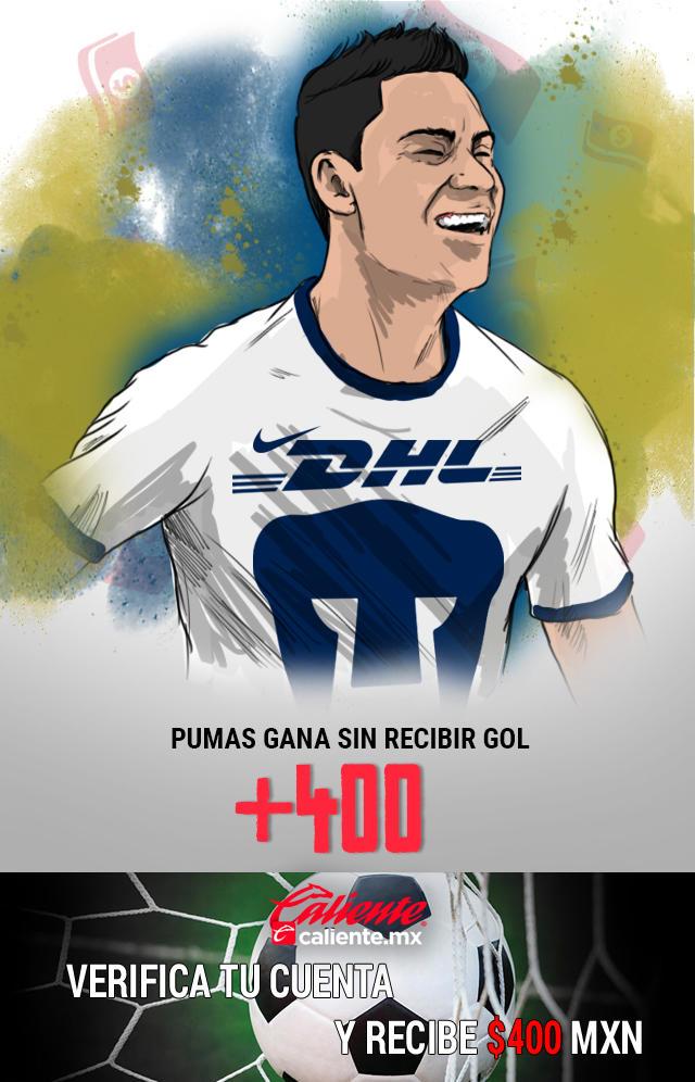 Si crees que Pumas Gana vs Tigres sin recibir gol, apuesta en Caliente y llévate mucho dinero.