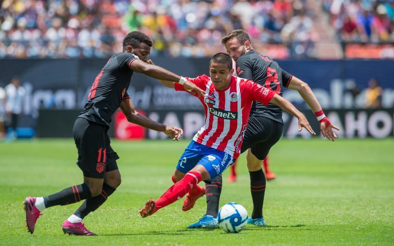 El Atlético de Madrid venció al San Luis en amistoso