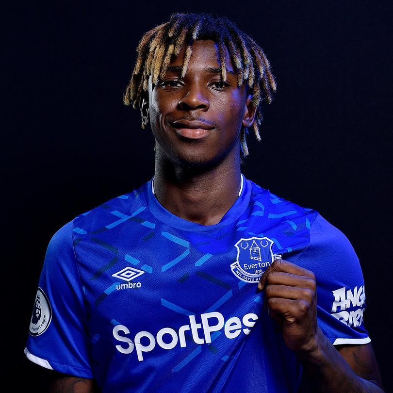 Moise Kean nuevo jugador del Everton