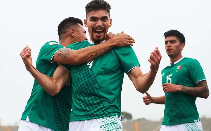Johan Vasquez autor del primer gol de México
